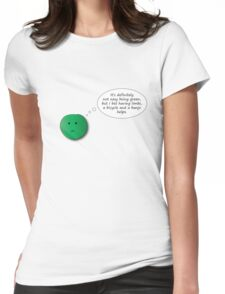 It's Not Easy Being Green Womens Fitted T-Shirt
