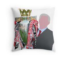 Sir Alex Ferguson Minimalist Throw Pillow