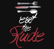Hannibal - Eat the Rude (Vintage style) by Something Wicked