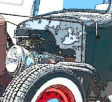 36 Chevy Rat Rod Pickup Cruise Tee Sticker