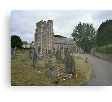 Seaton parish church Metal Print