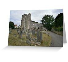 Seaton parish church Greeting Card