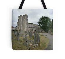 Seaton parish church Tote Bag