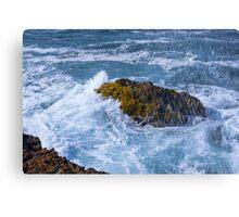 Crashing Waves at La Chocolatera, Ecuador Canvas Print
