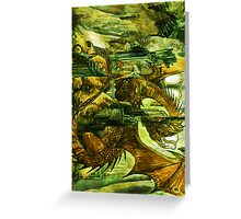 Play with the dragon Greeting Card