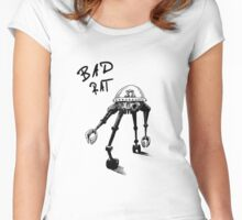 BAD RAT Women's Fitted Scoop T-Shirt