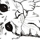 Woken kitten by drknice