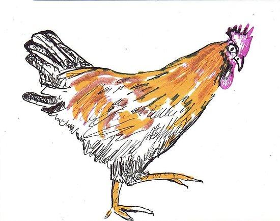 Chicken 8 by drknice