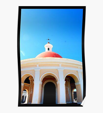 Greetings from Old San Juan Poster