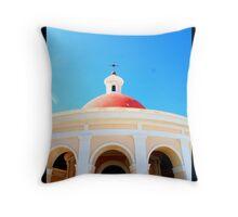 Greetings from Old San Juan Throw Pillow