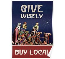 Give Wisely Poster