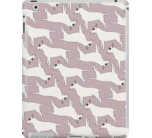 Bull Terrier pattern iPad Case/Skin