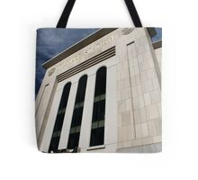 Entering Yankee Stadium Tote Bag