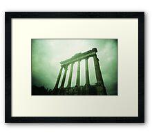 Columns - Lomo Framed Print