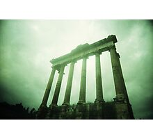 Columns - Lomo Photographic Print
