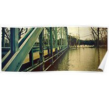 Bridge over the Tittabawasee River Poster