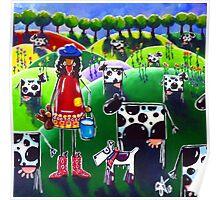 Mow Cow Farm Poster