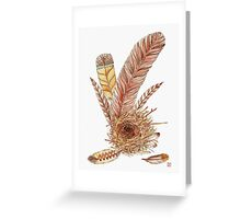 Feather Your Nest  Greeting Card