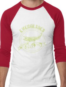 Everglades National Park in green Men's Baseball ¾ T-Shirt