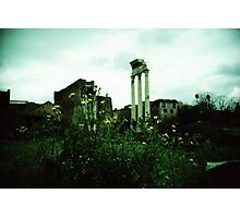 Flower Power - Lomo Photographic Print