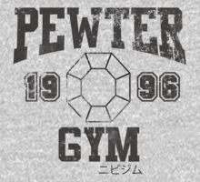 Pewter Gym Shirt by brentwards