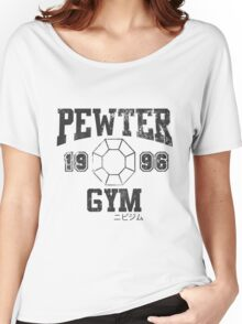 Pewter Gym Shirt Women's Relaxed Fit T-Shirt