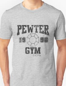 Pewter Gym Shirt Unisex T-Shirt