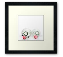 Empty couple... Framed Print