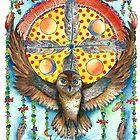 Owl Dream Catcher by ChubbyMermaid