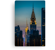 Chrysler Building At Sunset Canvas Print
