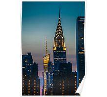 Chrysler Building At Sunset Poster