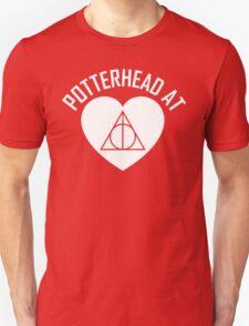 HARRY POTTER - POTTERHEAD AT HEART V.2 White T-Shirt