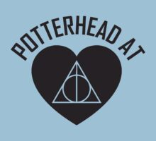 HARRY POTTER - POTTERHEAD AT HEART V.2 Kids Clothes