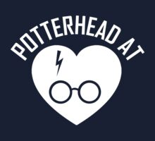 HARRY POTTER - POTTERHEAD AT HEART WHITE Kids Clothes