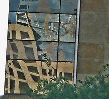 A Look Up From City Hall Plaza ~ Austin, Texa by Jack McCabe