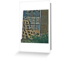 A Look Up From City Hall Plaza ~ Austin, Texa Greeting Card