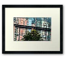 A Second Look Up From City Hall Plaza ~ Austin, Texa Framed Print
