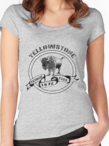 Yellowstone National Park Women's Fitted Scoop T-Shirt