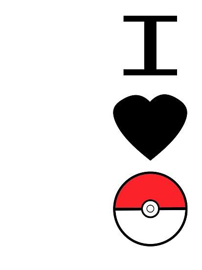 I Heart Pokemon by CarlyRC13