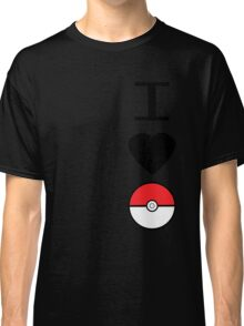 I Heart Pokemon Classic T-Shirt