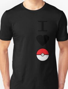 I Heart Pokemon T-Shirt