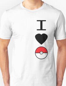 I Heart Pokemon Unisex T-Shirt