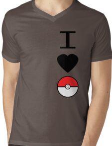I Heart Pokemon Mens V-Neck T-Shirt