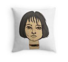 Mathilda Leon Throw Pillow