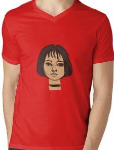 Mathilda Leon Mens V-Neck T-Shirt