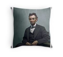 President Abraham Lincoln Throw Pillow