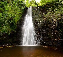Falling Foss Waterfall by paulwhittle