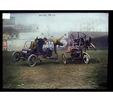 Auto Polo, ca. 1915 Photographic Print
