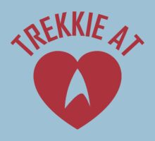STAR TREK - TREKKIE AT HEART  One Piece - Short Sleeve