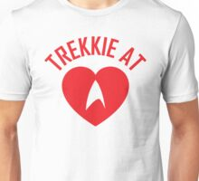 STAR TREK - TREKKIE AT HEART  Unisex T-Shirt